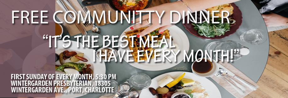 FREE COMMUNITY DINNER2