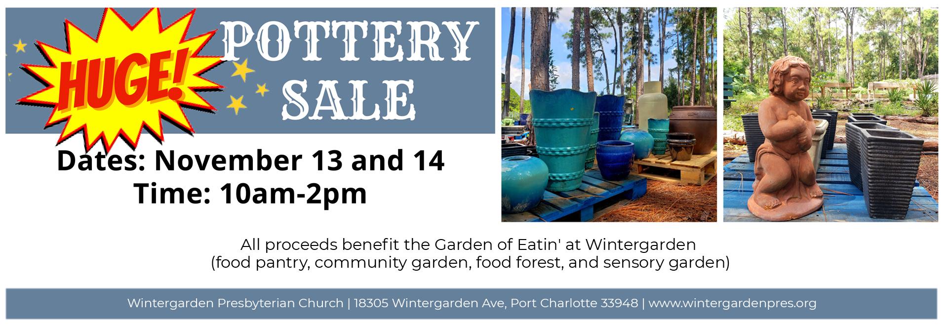 Pottery-Sale