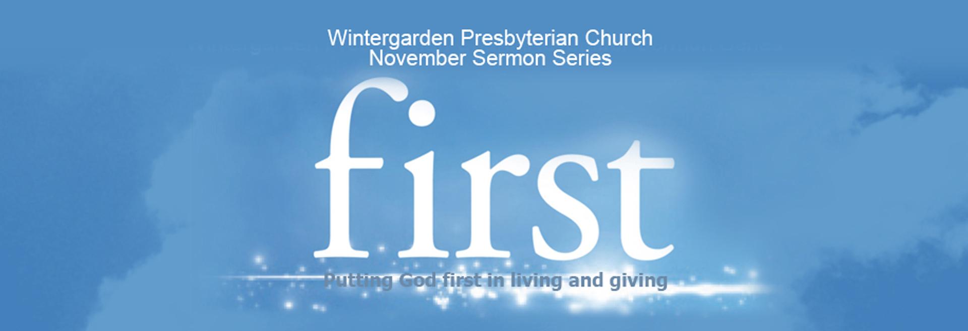 first-november series